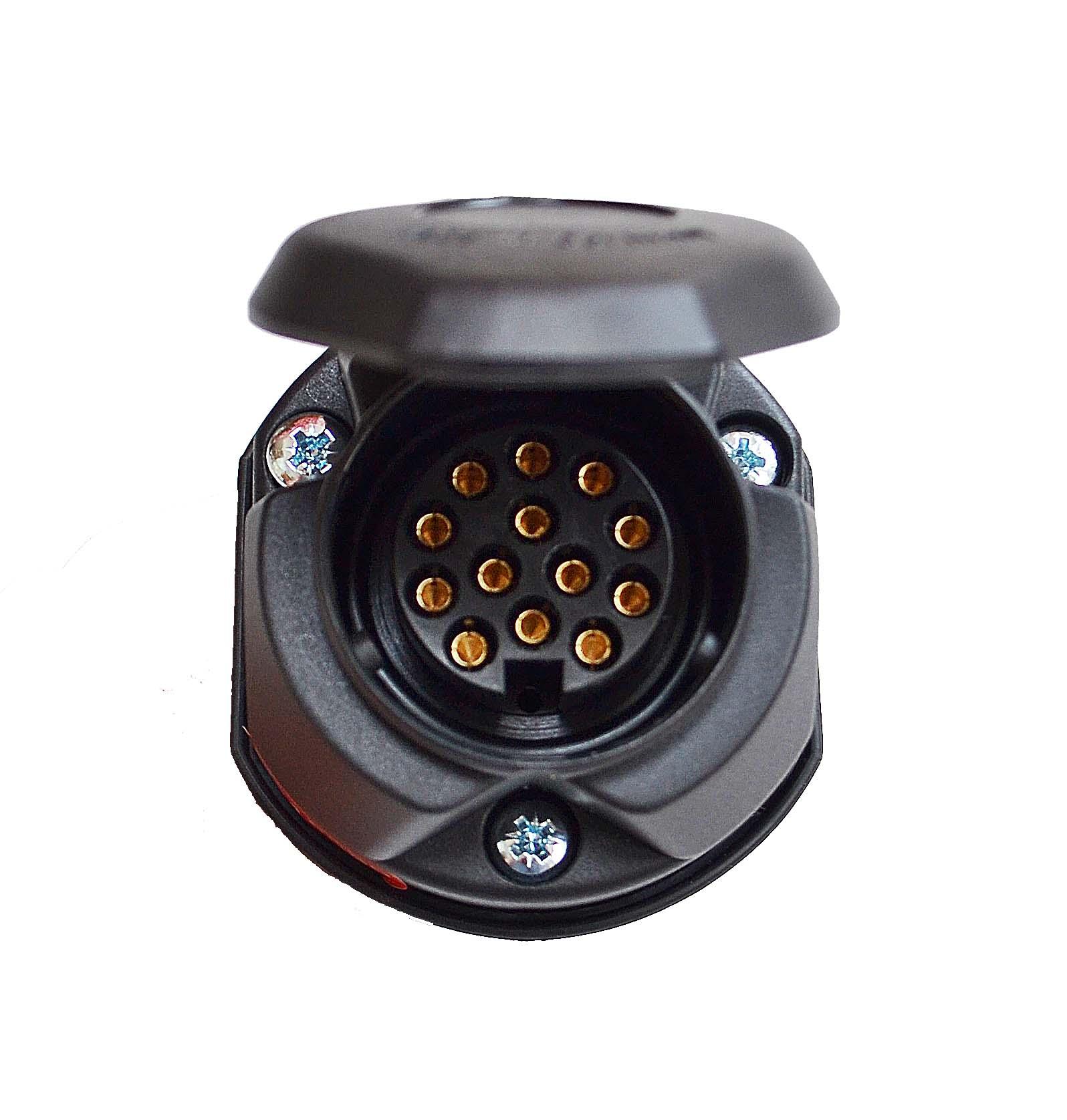 Wiring Diagram 13 Pin Caravan Socket