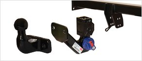 Detachable flange towbar - Mobile Towbar fitting South Wales