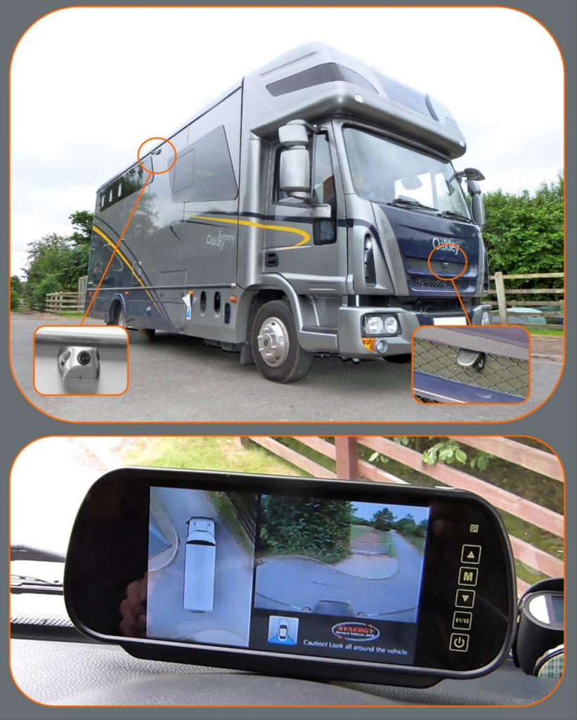 360 degree vehicle camera