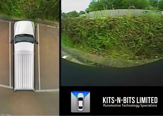 360 dgree vehicle camera startup view